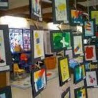 Loyola Village ES: Art Exhibit and Display
