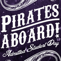 Pirates Aboard! Admitted Student Day