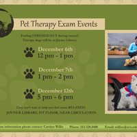 Pet Therapy Exam Event