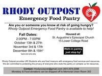 Rhody Outpost Emergency Food Pantry