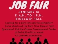 UofL Spring 2017 Part-Time Job Fair