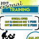 2017 Personal Training