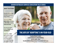 "SOS Education Talk Series: The Joys of ""Adopting"" a 90-Year-Old"