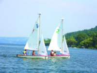 CAU summer program: The Sailing Clinic, led by Patrick Crowley and Fred DeBruyn