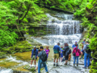 CAU summer program: Gorgeous Gorges of the Finger Lakes, led by Warren Allmon