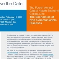 4th Annual Global Health Economics Colloquium