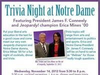 Trivia Night at Notre Dame