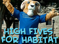 High Fives for Habitat