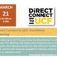 DirectConnect to UCF: Trasitions Planning