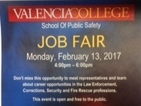 School of Public Safety Job Fair