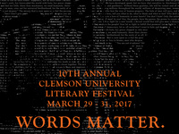 Clemson Faculty Reading
