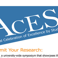Annual Celebration of Excellence by Students (ACES) Symposium