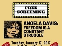Free Screening: Angela Davis: Freedom is a Constant Struggle