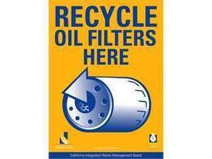 FREE Oil Filter* & Oil Changing Kit at CVAG Used Oil Recycling Events - Palm Springs