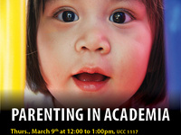 Parenting in Academia – A panel discussion on the joys and challenges