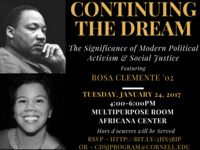 Continuing the Dream: The Significance of Modern Political Activism & Social Justice