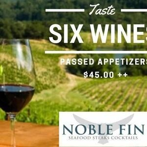 Wine Tasting at Noble Fin