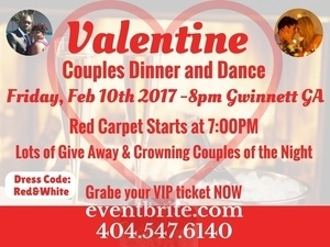Valentine Couples Dinner and Dance