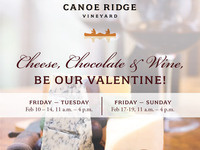 Cheese, Chocolate & Wine @ Canoe Ridge Winery