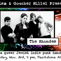 Prism and Goucher Hillel present The Shondes