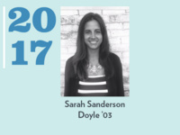 Event image for Young Alumni Award Workshop: Sarah Sanderson Doyle