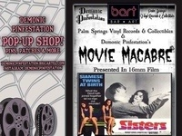 "Movie Macabre Featuring Brian DePalma's ""Sisters"" in 16mm Film!"