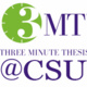 Registration Deadline: Three Minute Thesis Competition for Graduate Students