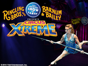 Ringling Brothers Barnum & Bailey Circus presents Circus Xtreme