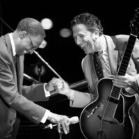 """Ramsey Lewis & John Pizzarelli """"Straighten Up and Fly Right"""" The Nat King Cole Tribute"""