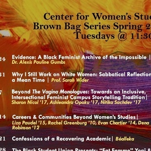 Beyond The Vagina Monologues: Towards an Inclusive, Intersectional Feminist Campus Storytelling Tradition