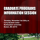 Graduate Studies Information Session