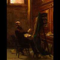 "Object of the Month: ""Worthington Whittredge in his Tenth Street Studio"""
