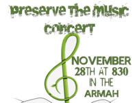 'Preserve the Music' Concert