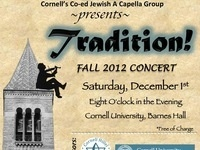 "The Chai Notes A Capella Fall Concert: ""Tradition!"""