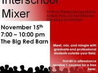 Interschool Mixer between Humanities, Landscape Architecture, Architecture, and City and Regional Planning