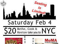 Keeton, Bethe and Cook take you to NYC!