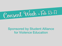 Consent Week: Student Leadership Lunch with We End Violence