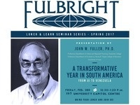 "Fulbright Lunch & Learn - ""A Transformative Year in South America: From UI to Venezuela"""