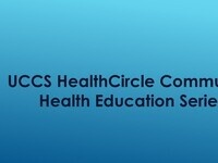 Community Health Education Series (CHES) Talk