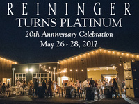 Reininger Turns Platinum - 20th Anniversary Celebration @ Reininger WInery