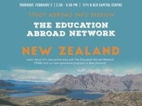 TEAN/Study Abroad New Zealand Information Session
