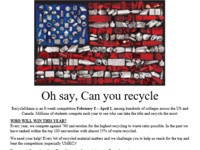 Recyclemania on Campus