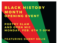 Black History Month Poetry Slam @ Cafe Steam