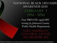 National Black HIV/AIDS Awareness Testing