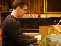 CU Music:  harpsichordist Matthew Hall