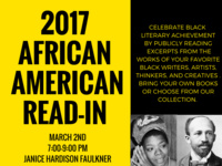 2017 African American Writers Read In