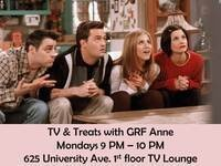 TV and Treats with GRF Anne