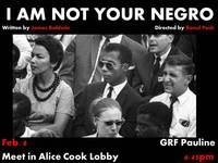 """I Am Not Your Negro"" @ Cornell Cinema"