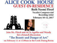 Brunch with guest in residence Ruth Naomi Floyd