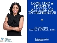 Look Like a Student, Act Like an Entrepreneur – Lunch & Learn